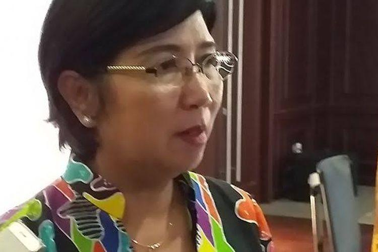 Deputi Gubernur Senior Bank Indonesia (BI) Destry Damayanti di Jakarta