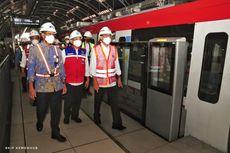 Pembangunan LRT Jabodebek Capai 84,6 Persen, Ditargetkan Beroperasi pada 2022