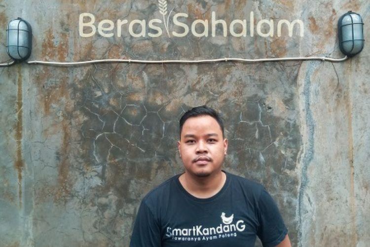 Bayu Aji Pangestu, mahasiswa Departemen Teknologi Hasil Ternak, Fakultas Peternakan IPB University