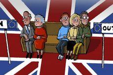 Kubu Brexit Unggul Sementara pada Referendum Uni Eropa di Inggris