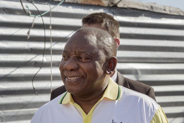 Presiden Afrika Selatan Cyril Ramaphosa.