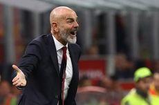 Cagliari Vs Milan, Pioli: Saelemaekers Patah Hati Dikartu Merah Wasit