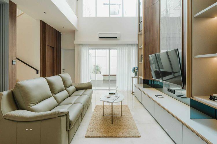 Desain interior modern minimalis karya Arkilens