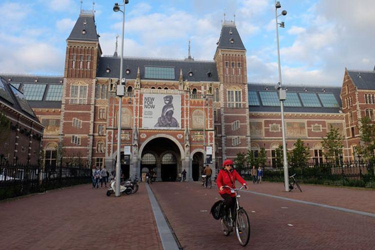 Museum di kota Amsterdam, Belanda.