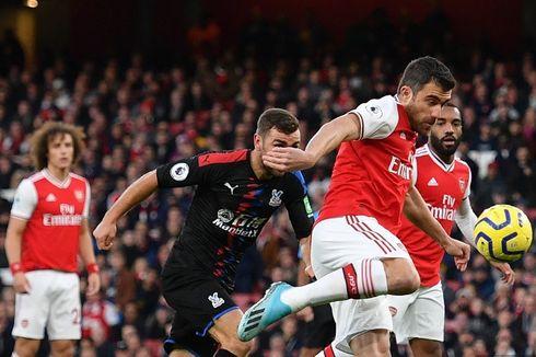 Arsenal Vs Crystal Palace, The Gunners Gagal Pertahankan Keunggulan 2 Gol