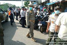 Pasar Jatinegara Ramai Pengunjung, Satpol PP Tertibkan Pedagang