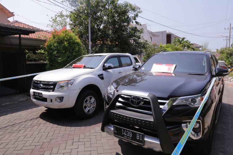 Mobil mewah milik bandar narkoba di Surabaya disita BNN
