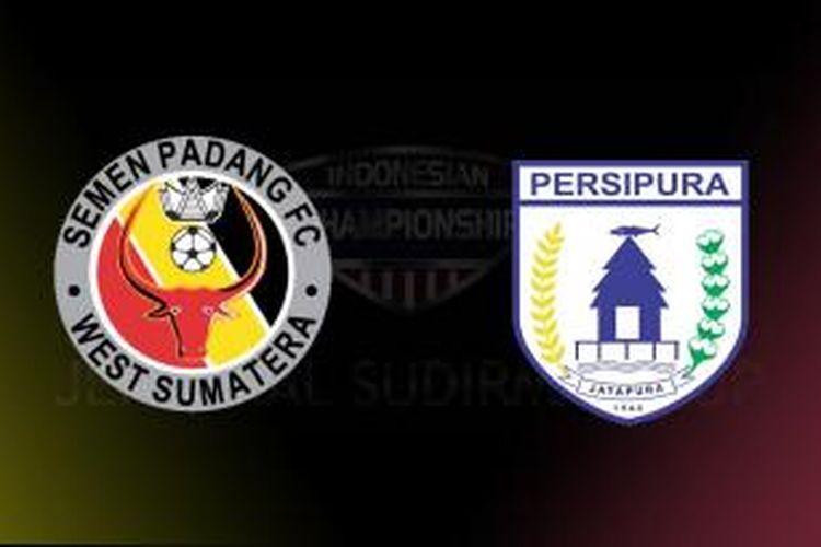 Semen Padang melawan Persipura Jayapura pada pertandingan penyisihan Grup B Piala Jenderal Sudirman di Stadion Kapten I Wayan Dipta, Selasa (17/11/2015).