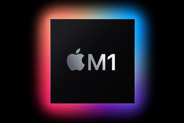 Ilustrasi chip Apple M1