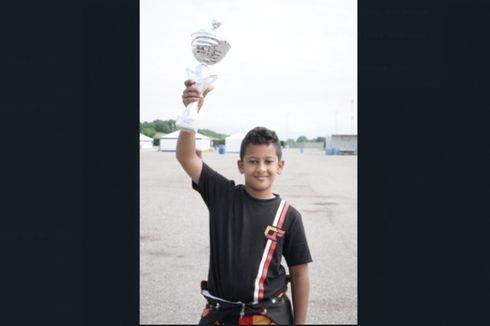 Pebalap Indonesia Qarrar Firhand Menangi Kejuaraan ROK Cup Italia 2021