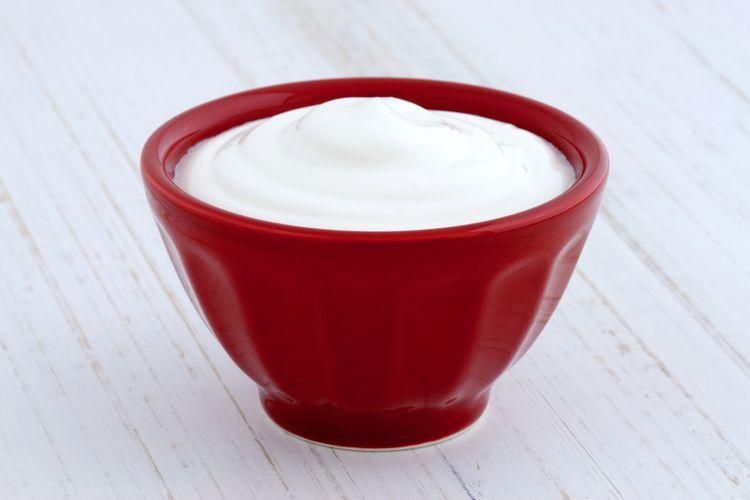 Ilustrasi heavy cream.