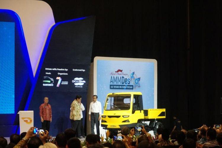 Presiden RI Joko Widodo secara resmi membuka pameran GIIAS 2018