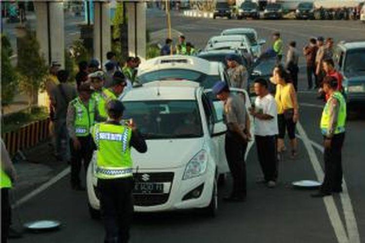 Pengamanan di Pelabuhan Ketapang Banyuwangi menuju Bali di perketat pasca peledakan boom di Sarinah Jakarta