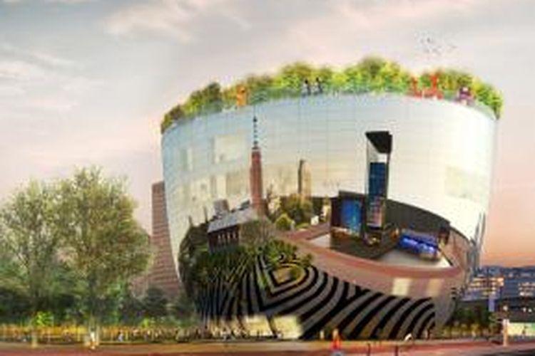 Praktik arsitektur dari Belanda, MVRDV membuat