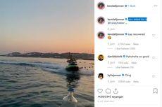 Berbikini di Atas Jetski, Kendall Jenner Sukses Ikut Tantangan Tutup Botol