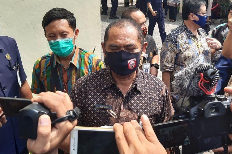 Wali Kota Solo FX Hadi Rudyatmo di Solo, Jawa Tengah, Selasa (5/5/2020).
