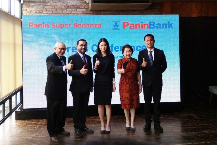 Peluncuran Program Panin Super Bonanza 2019 di Panin Bank Centre, Jakarta Pusat, Selasa (5/3/2019).