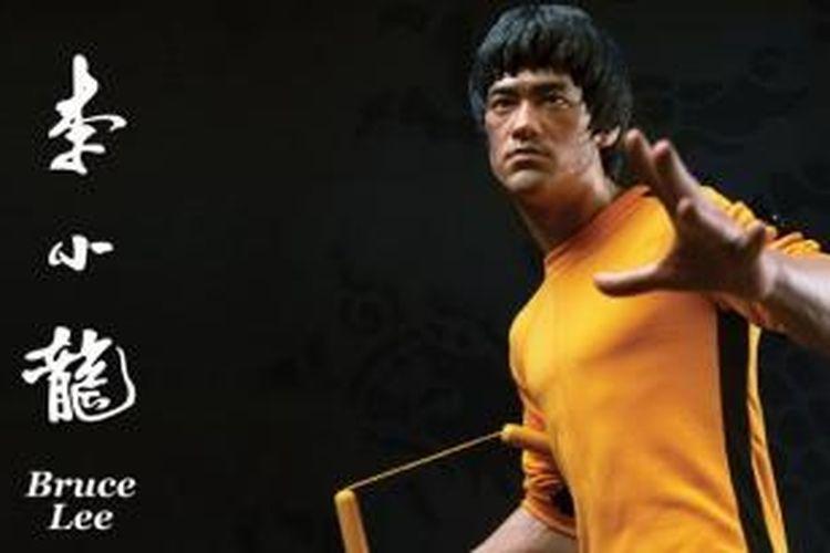 Bruce Lee dan senjatanya, nunchaku