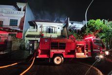 Kebakaran Landa Rumah 2 Lantai di PIK, Diduga karena Korsleting