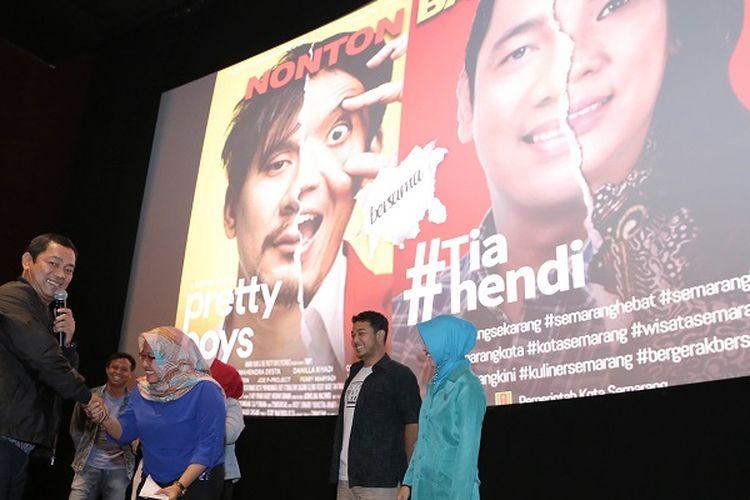 Turunkan Tensi, Walkot Hendi Ajak Masyarakat Nobar Film Komedi