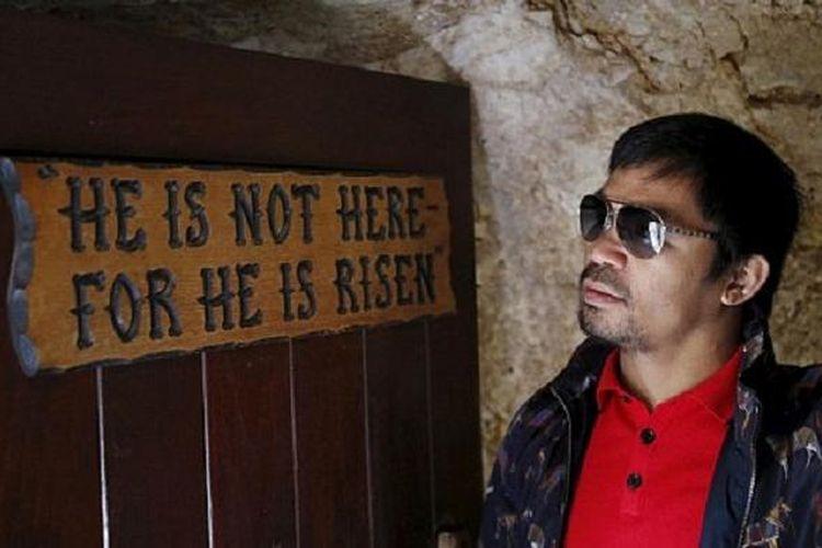 Manny Pacquiao di situs suci Jerusalem