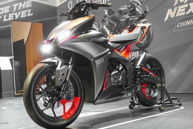 Saat peluncuran Exciter 155 VVA, Yamaha Vietnam turut menampilkan Yamaha F155.