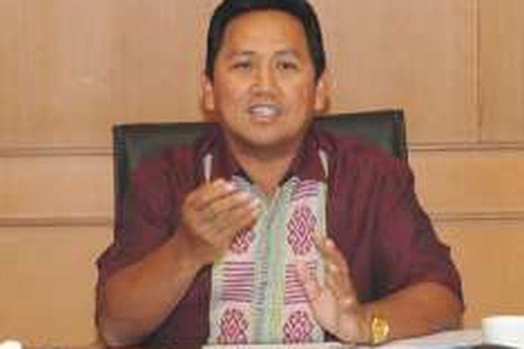 Direktur Utama Lembaga Layanan Pemasaran Koperasi dan UKM Ahmad Zabadi