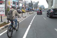Menjajal Jalur Sepeda Jalan Fatmawati-Sudirman Sepanjang 23 Kilometer...