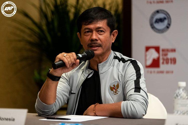 Pelatih Tim Nasional U-23 Indonesia, Indra Sjafri.