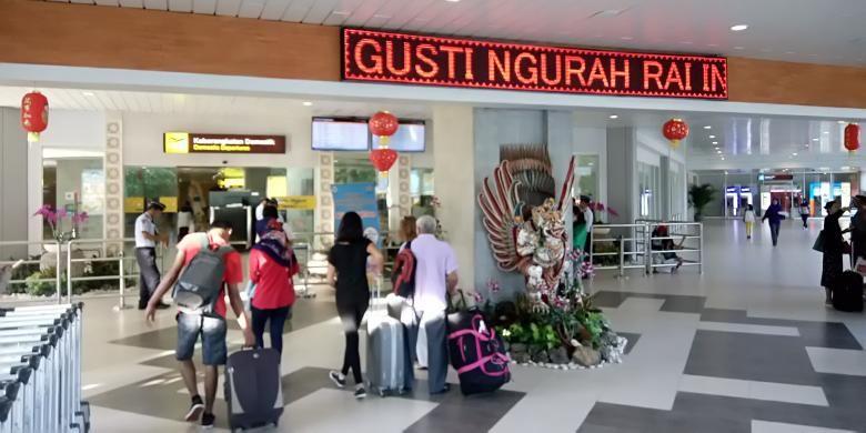 Terminal domestik Bandara Ngurah Rai Bali