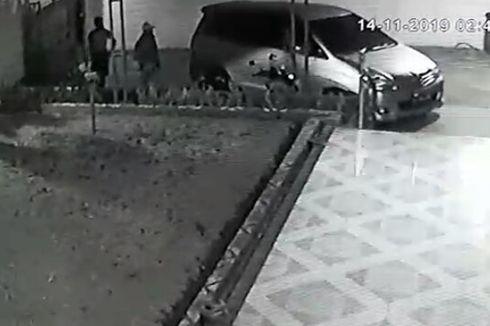 Aksi Pencurian Motor NMax di Jalan Rajawali Pondok Aren Terekam CCTV