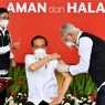 Presiden Jokowi Disuntik Vaksin Covid-19 Dosis Kedua 14 Hari Kemudian