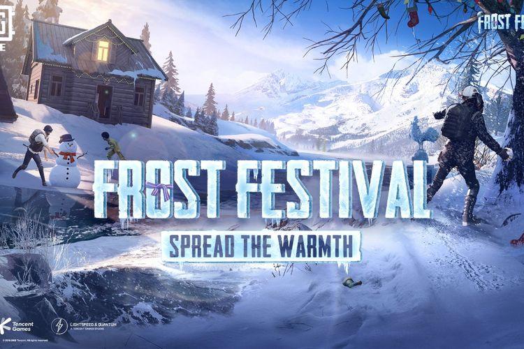 Mode permainan baru bertema musim dingin Frost Festival telah hadir dalam PUBG MOBILE.