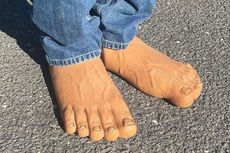 Sepatu Menyerupai Kaki, Memangnya Ada?