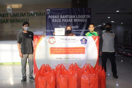 Beri Semangat Tenaga Medis Indonesia, Dompet Dhuafa Berikan Bantuan Makanan