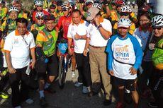 Ujian Konsistensi Peserta Jelajah Sepeda Flores-Timor di Etape Terakhir