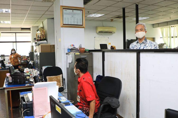 Suasana perkantoran ASN Pemprov Jateng saat kembali kerja dari kantor