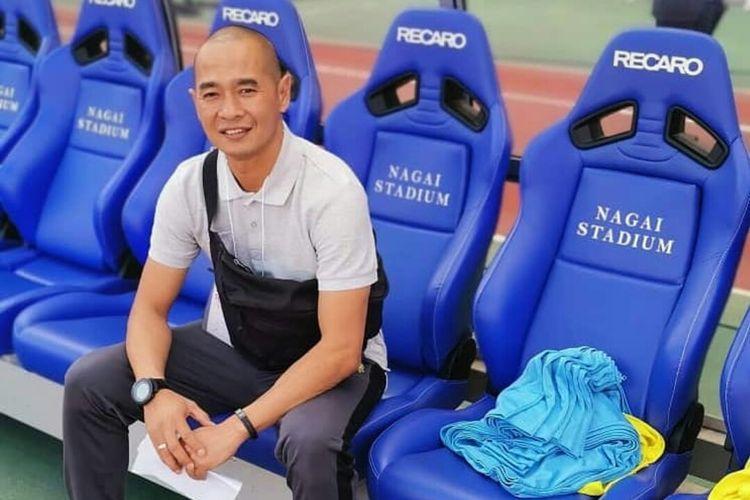 Mantan pemain Indonesia yang menjadi pelatih tim Malaysia Sabah FA, Kurniawan Dwi Yulianto.