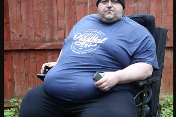 Mark Sehman berusaha untuk menurunkan berat badannya, kalau tidak, menurut dokternya dia akan mati.