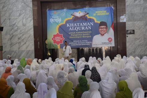 Ribuan Jamaah Nusantara Mengaji Doakan Cak Imin Jadi Cawapres