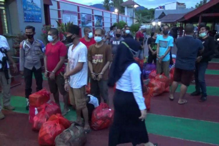 Terima Limpahan Tahanan Polda Pasca Gempa, Lapas Polman Disesaki Tahanan