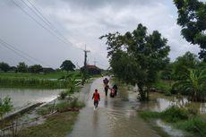 Kali Lamong Meluap, 3 Kecamatan di Gresik Kebanjiran Lagi