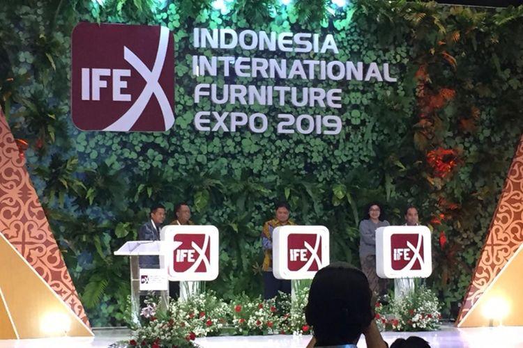 Pameran IFEX 2019 resmi digelar di JIExpo, Kemayoran. Pameran ini akan diselenggarakan pada 11-14 Maret 2019.
