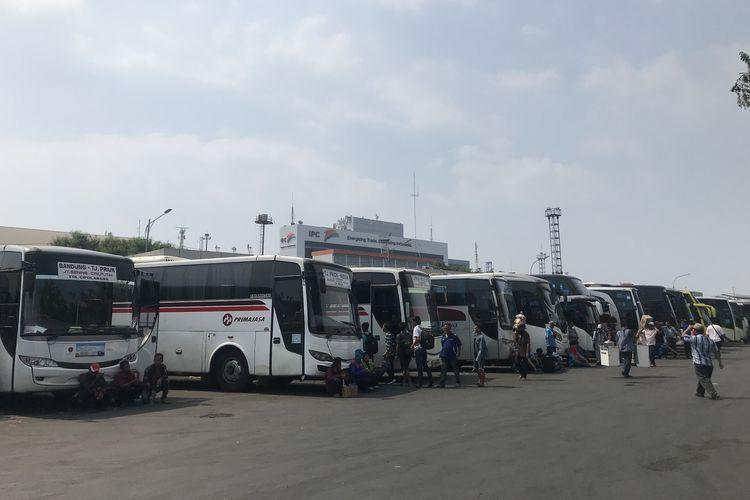 Suasana Terminal Tanjung Priok, Jakarta Utara, Jumat (31/5/2019).