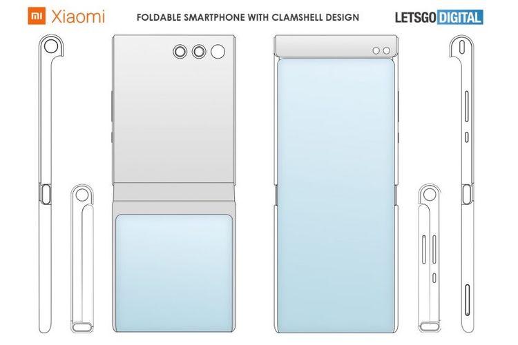 Paten ponsel layar lipat Xiaomi
