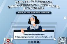 Pengumuman Hasil SBMPTN 2021, Cek Link Utama dan 29 Laman Mirror Ini