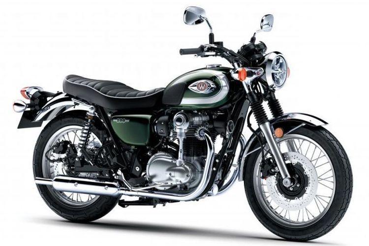 Kawasaki W800 di Tokyo Motor Show 2019