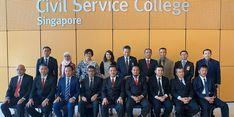 Wagub Sulsel Bahas Persiapan Hadapi Revolusi Industri 4.0 di Singapura