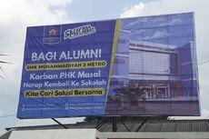 Foto Viral Baliho Ajakan Alumni SMK Korban PHK Kembali ke Sekolah, Ternyata Ini Alasannya