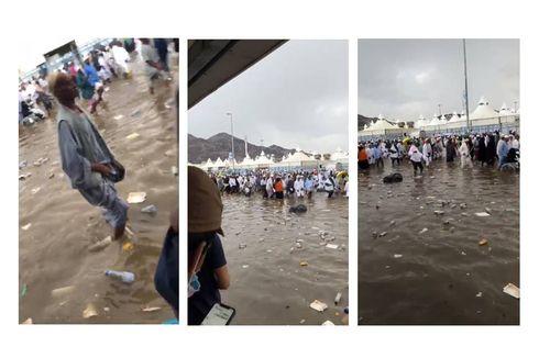Beredar Video Banjir di Mina, Bagaimana Situasi Sebenarnya?